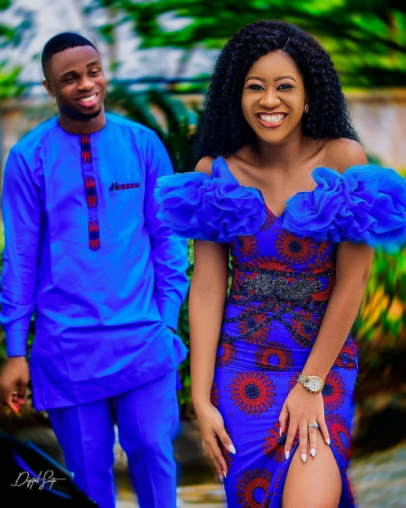 African couple wear.9