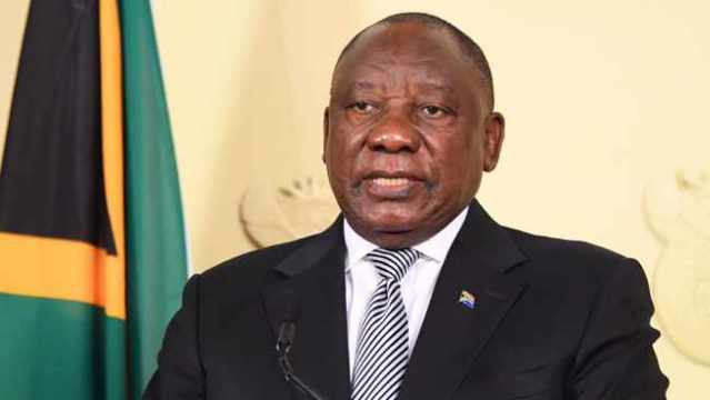 President Ramaphosa addresses the nation on coronavirus pandemic