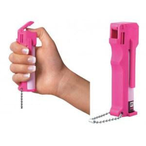 美国进口梅西喷雾粉红女郎Hot Pink Personal mace大辣妹防身喷雾防狼喷雾80347