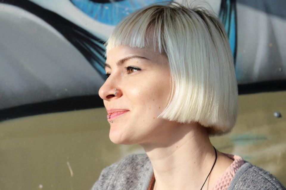 Jewelry maker Izabella Petrut