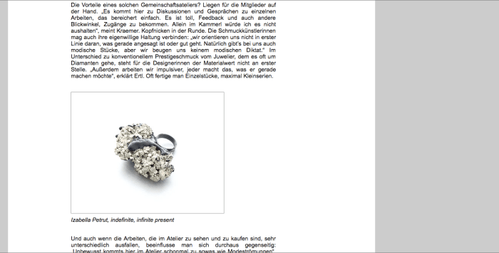 izabella petrut austrianfashionnet art jewelry article