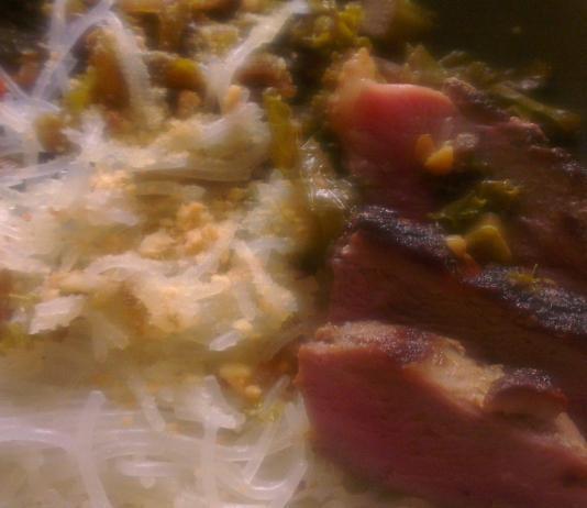 Recette N°44 - Nouilles chinoises au chou kale
