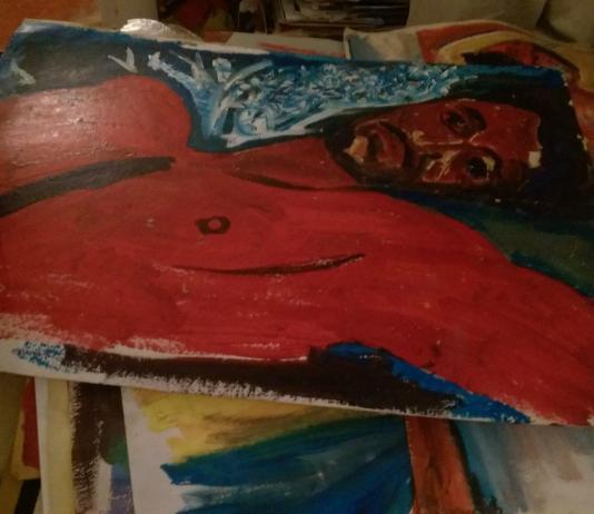 Pichaya Manet, celui qui peint autrement - Crédit photo izart.fr