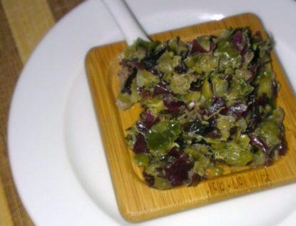 Recette N°73 - Tartare d'algues - Crédit photo izart.fr