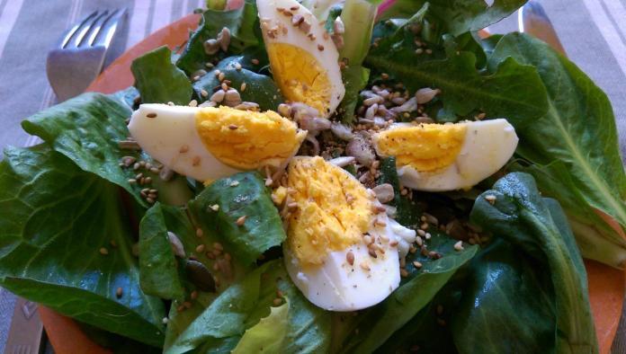 Recette N°80 - Salade sauvage de printemps - Crédit photo izart.fr