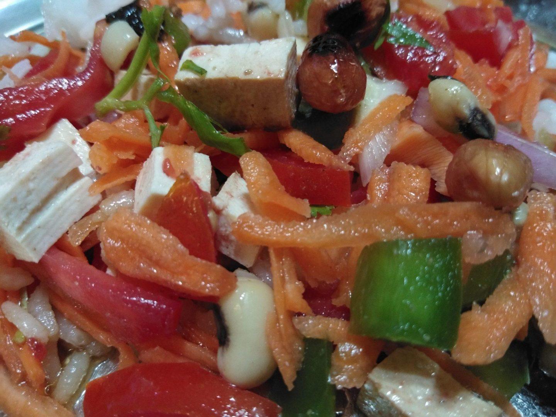 Recette N°136 - Salade veg mieux qu'au restau - Crédit photo izart.fr