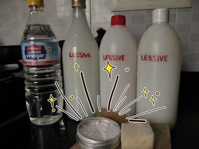 J'ai testé avec succès la lessive maison - Crédit photo izart.fr