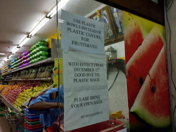 Bring your bag no plastic bags here - Crédit photo izart.fr