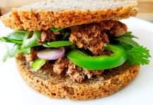 Recette N°122-Burger sans gluten aux rillettes de sardines - Crédit photo izart.fr