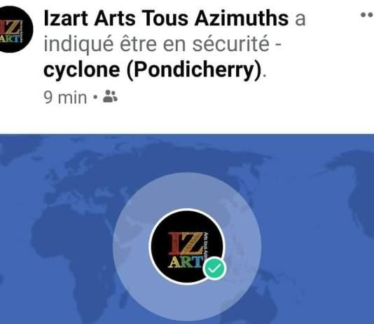 Dans le cyclone et coupée du monde - Crédit photo izart.fr