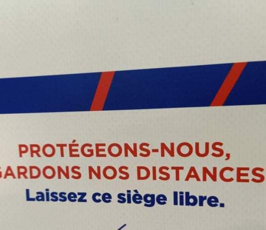 Gardons nos distances - Crédit photo izart.fr