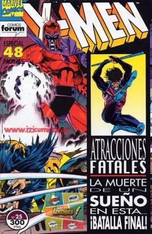 Ver Comic X-MEN: Atracciones Fatales