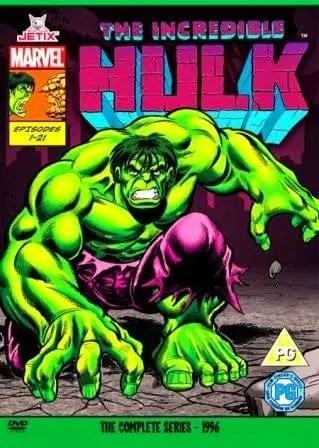 Serie Animada The incredible Hulk 1990