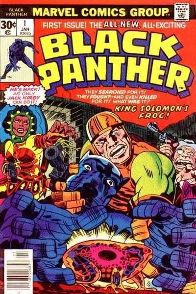 Ver Comic Pantera Negra Vol 1