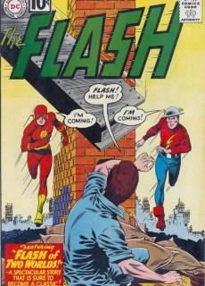 Comic El flash de dos mundos