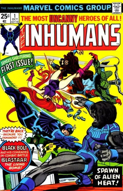 Comic Inhumanos Vol 1
