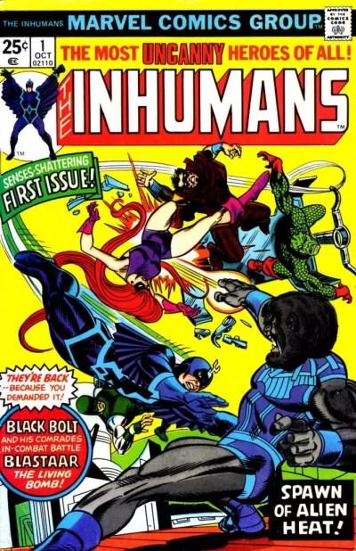 Comic Inhumanos Vol 1