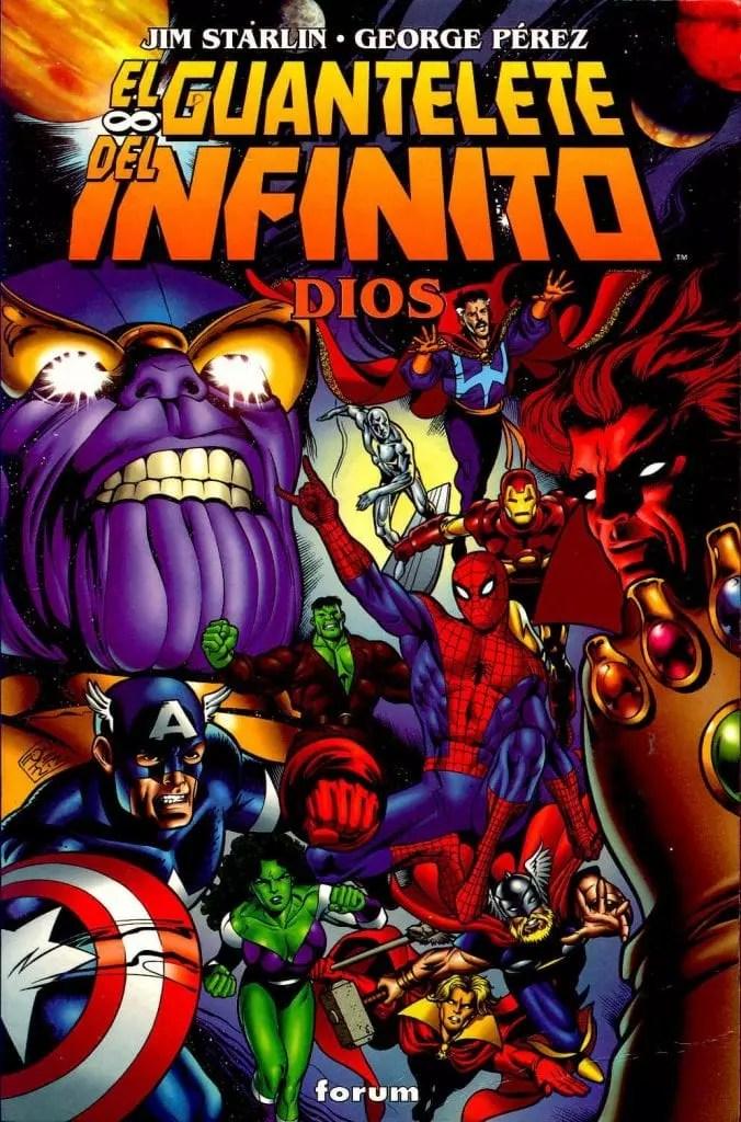 Thanos El guantelete del Infinito  | PDF – Español |