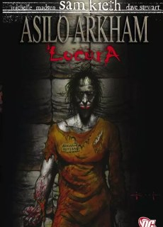 Comic Asilo Arkham Locura