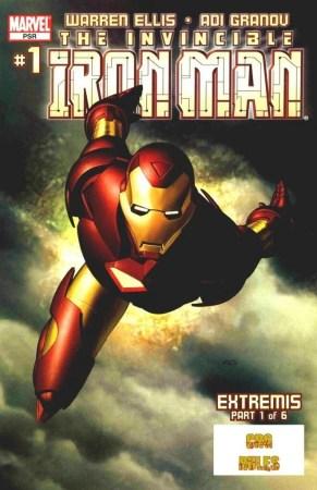 Ver Comic Iron man Extremis