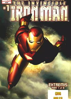 Ver Comic Iron man Extremis