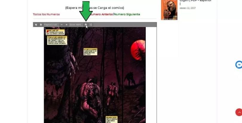 descargar los comics en PDF