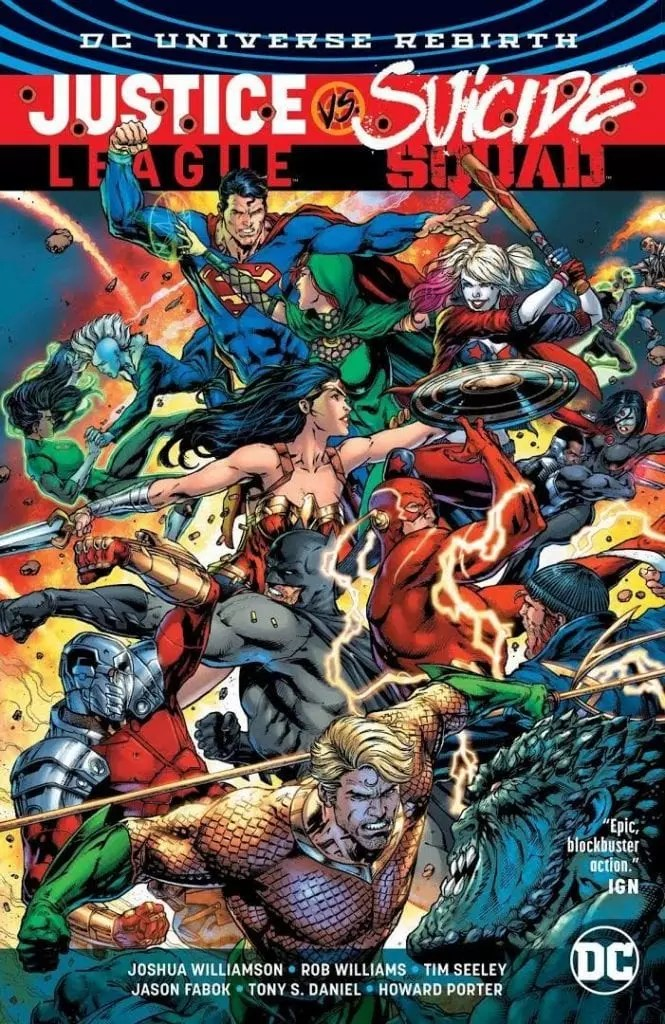 Justice League vs Suicide Squad