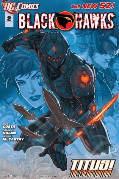 BlackHawk - New 52 Comic