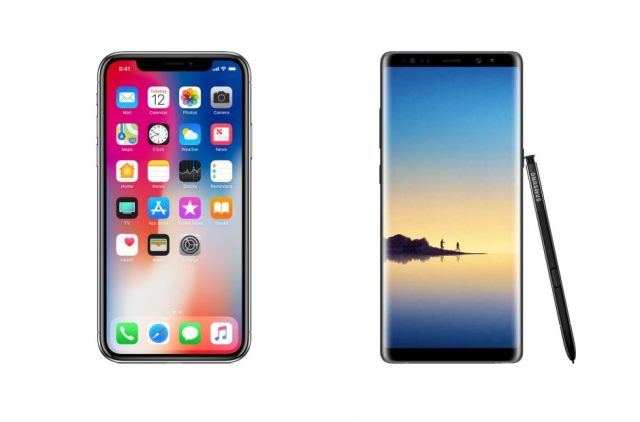 iphone-x-vs-galaxy-note-8