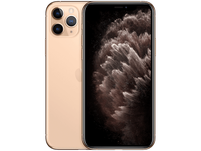 Apple iPhone 11 Pro Max Gold on Virgin