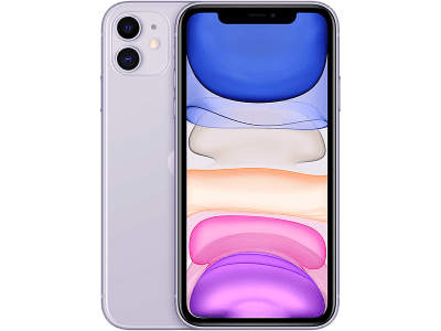 Apple iPhone 11 Purple on 12 Months Contract