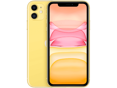 Apple iPhone 11 Yellow on 12 Months Contract