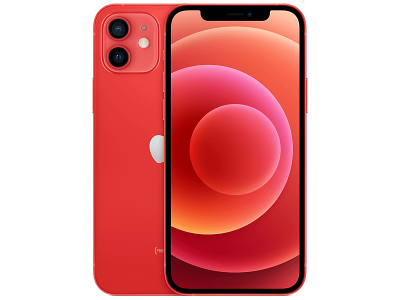 Apple iPhone 12 64GB Red on Three £32 (24 months)
