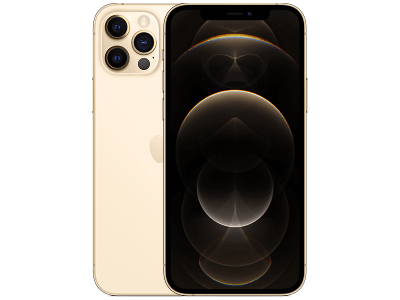 Apple iPhone 12 Pro Gold on O2