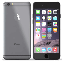 Apple iPhone 6 with Alcatel Pixi 3
