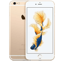 Apple iPhone 6S Gold with Samsung Galaxy Tab A 9.7