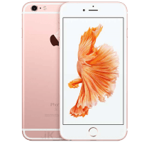 Apple iPhone 6S Plus Rose Gold with GHD Hair Straighteners