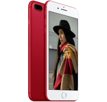 Apple iPhone 7 Plus 256GB Red on 18 Months Contract