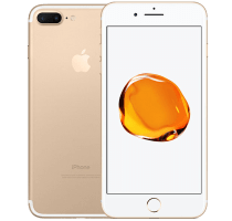 Apple iPhone 7 Plus Gold with Amazon Echo Dot