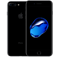 Apple iPhone 7 Plus Jet Black with Beauty and Hair