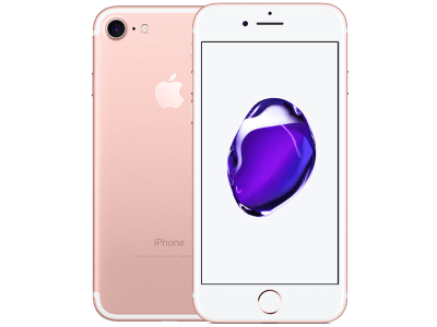 Apple iPhone 7 128GB Rose Gold with Headphone and Speakers