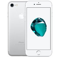 Apple iPhone 7 Silver with Amazon Echo Dot