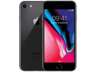 Apple iPhone 8 256GB with Samsung Galaxy Tab E 9.6