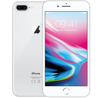 Apple iPhone 8 Plus 256GB Silver with Acer Laptop