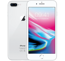 Apple iPhone 8 Plus Silver with iPad and Tablet