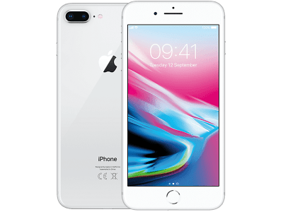 Apple iPhone 8 Plus Silver with Sony PS4