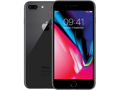 Apple iPhone 8 Plus on O2 £0 (0 months)