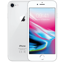 Apple iPhone 8 Silver with Cashback by Redemption