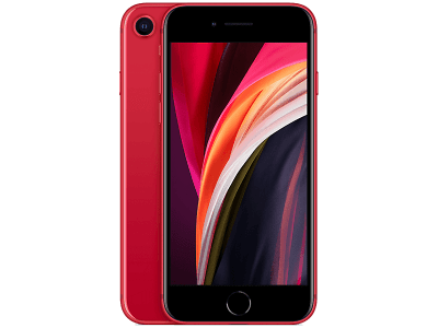 Apple iPhone SE Red on O2
