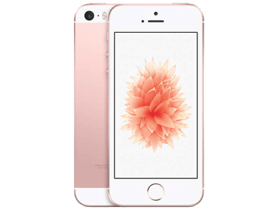 Apple iPhone SE Rose Gold with iPad and Tablet